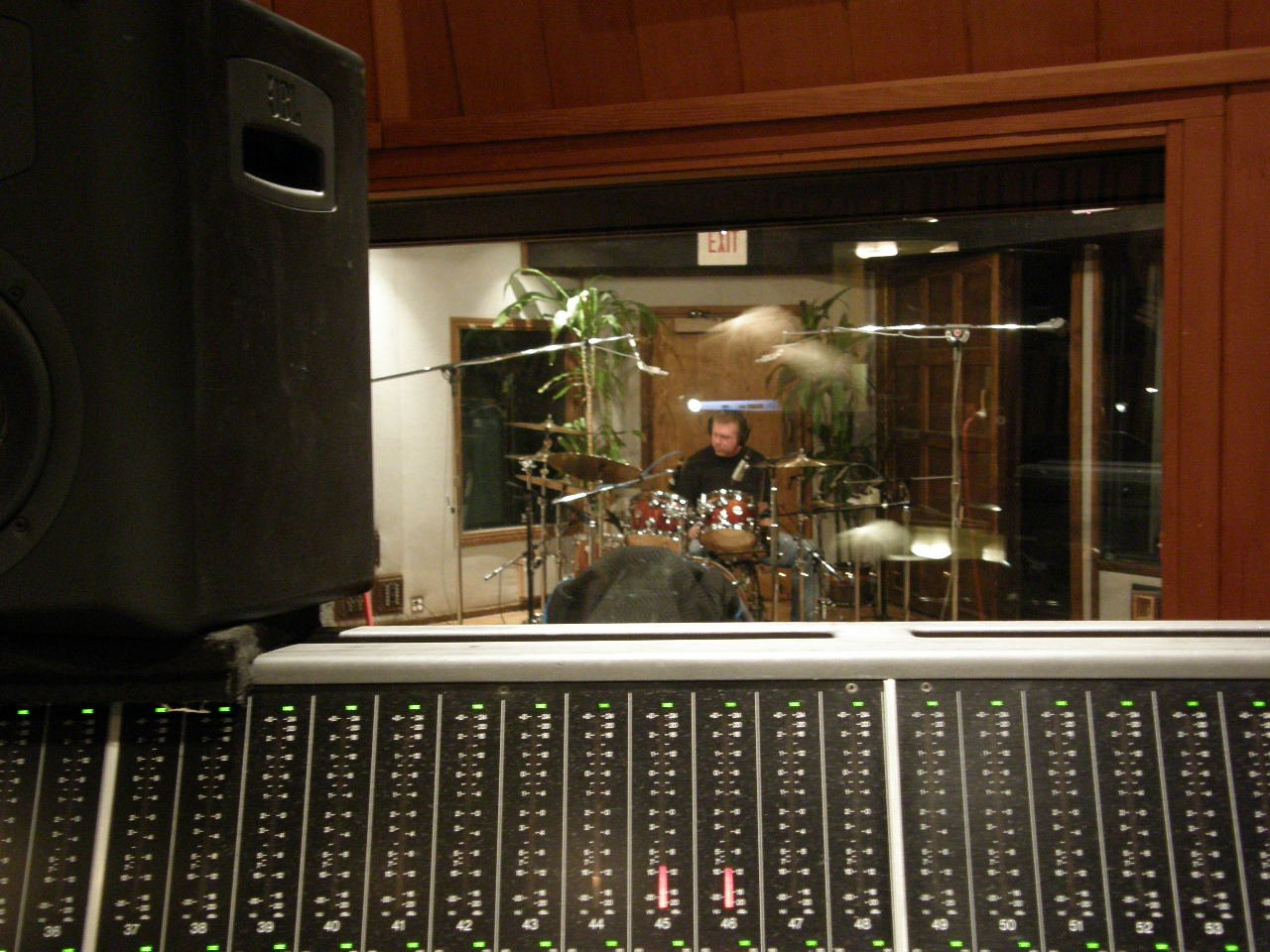 John laying down another one of his signature grooves.